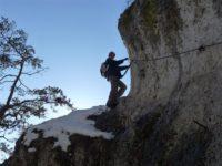 Klettersteig Höhenglücksteig : Höhenglücksteig
