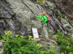 Klettersteig Obergurgl : Klettersteig schwärzenkamm langtalereckhütte obergurgl