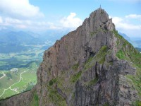 Klettersteig Kitzbühel : Klettersteig kitzbüheler horn