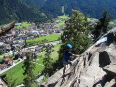 Klettersteig Zimmereben : Huterlaner klettersteig