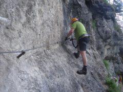 Klettersteig Hausbachfall : Klettersteig hausbachfall reit im winkl bayern
