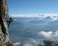 Klettersteig Innsbruck Nordkette : Kaiser max klettersteig martinswand