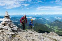 Maximilian Klettersteig : Latemar klettersteig attrezzata campanili del