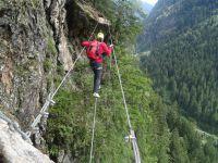 Klettersteig Nasenwand : Ginzlinger klettersteig nasenwand