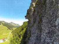 Klettersteig Walchensee : Klettersteig ottenalm direttissima
