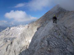 Jubiläumsgrat Klettersteigset : Jubiläumsgrat zugspitze