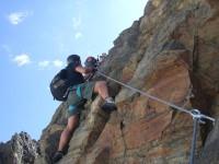 Klettersteig Rating : Pockkogel kuhtai panorama klettersteig