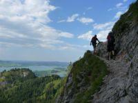 Klettersteig Gelbe Wand : Klettersteig gelbe wand