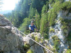Klettersteig Eitweg : Rotschitza klamm klettersteig bergnews