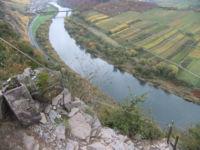 Klettersteig Mosel : Calmont klettersteig mosel gesicherter höhenweg zwischen bremm