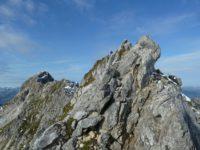 Klettersteig Hindelang : Hindelanger klettersteig gratüberschreitung hoch über oberstdorf