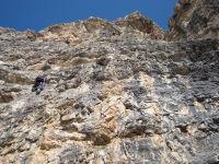 Klettersteig Piz Boe : Via ferrata cesare piazzetta klettersteig auf den piz boe