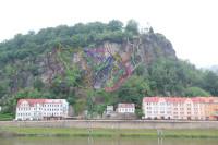 Klettersteig Decin : Via ferrata pastýřská stěna klettersteigpark decin