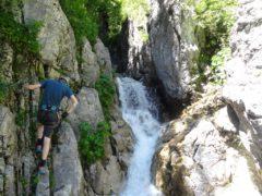 Klettersteig Montafon : Klettersteig röbischlucht im montafon
