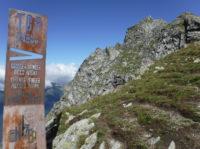 Klettersteig Ifinger : Hier beginnt der klettersteig