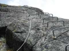 Klettersteig Italien : Klettersteige italien