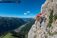 ferrata col rodella am Sellajoch - Bild: Manfred Kostner