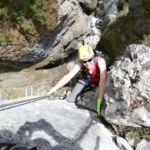 Klettersteig Kitzlochklamm . Bild: Sandra Poschinger