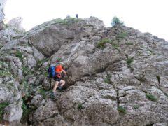 Klettersteig Falkert : Klettersteig falkensteig