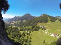 Klettersteig Ottenalm : Klettersteig ottenalm direttissima