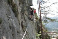 Klettersteig Wankspitze : Steinwand klettersteig arzl sportklettersteig im pitztal