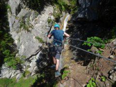 Klettersteig Montafon : Wasserfall klettersteig st anton im montafon