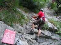 Klettersteig Colodri : Gardasee tag u klettersteig sentiero del colodri in arco meine