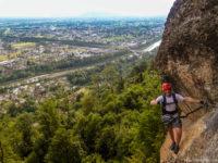 Klettersteig Känzele