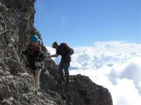 Klettersteig Innsbruck : Innsbrucker klettersteig