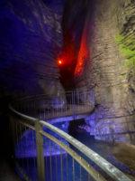 Varone Wasserfall - untere Schlucht