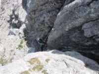 Klettersteig Wilder Hund - Bild: Sandra Poschinger