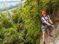Klettersteig Känzele : Klettersteig känzele bregenz kanzelfelsen