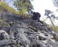 Klettersteig Gosau : Hochkar klettersteig bergmandl heli kraft im test schöner einstieg