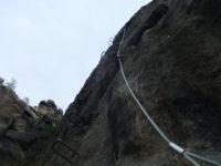 Klettersteig Jonsdorf : Nonnensteig jonsdorf