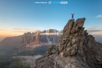 Klettersteig Cirspitze - Am Gipfel - bild: Manfred Kostner