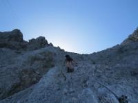 Stopselzieher Klettersteig - Bild: Dennis Fuchs