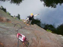 Klettersteig Erlabrunn : Walter keiderling klettersteig nonnenfelsen erlabrunn