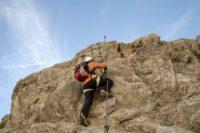Klettersteig Wankspitze : Klettersteig wankspitze