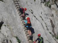Klettersteig Ferrata : Klettersteig alpspitze aufstieg via alpspitz ferrata und abstieg