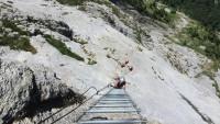 Klettersteig Bälmeten : Klettersteig bälmetentor