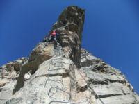 Klettersteig Fürenalp : Klettersteig fürenwand