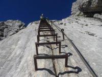 Klettersteig Ferrata : Civetta Überschreitung via ferrata degli alleghesi und tissi