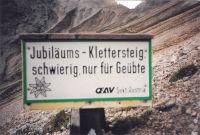 Klettersteig Eselstein