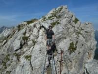 Klettersteig Mindelheimer : Mindelheimer klettersteig