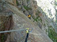 Klettersteig Unterstell : Knott klettersteig