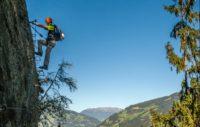 Klettersteig Huterlaner : Huterlaner klettersteig