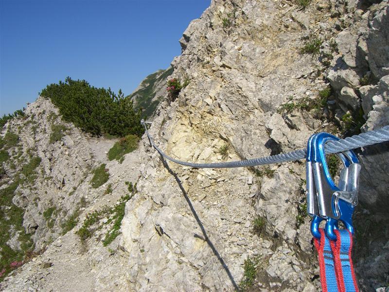 Klettersteig Salewa : Salewa klettersteig wanderfreunde calmbach höfen