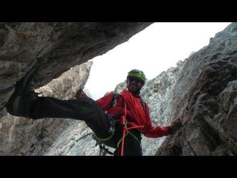 Klettersteig Drei Zinnen : Spektakuläres klettervideo von den drei zinnen