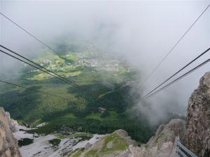 Schlechtwetter Dolomiten