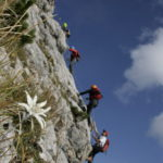 5 Gipfel Klettersteig - Bild © Hubert Moser